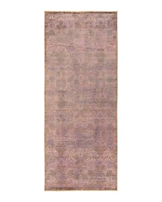 """Solo Rugs - Vibrance 42 Hand Knotted Area Rug, 4' 2"""" x 10' 2"""""""