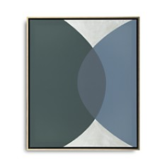 """Mitchell Gold Bob Williams Green & Silver Connecting Spheres Art, 26"""" x 31"""" - Bloomingdale's_0"""