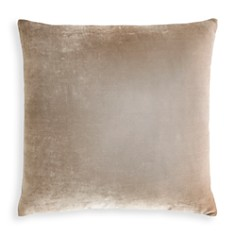 "Kevin O'Brien Studio - Dip Dye Silk Velvet Decorative Pillow, 26"" x 26"""