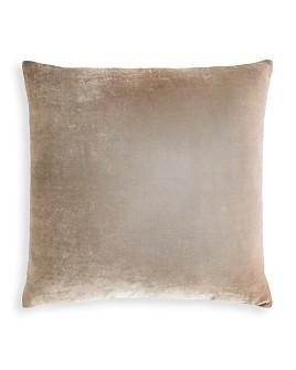 "Kevin O'Brien Studio - Dip Dye Silk Velvet Decorative Pillow, 26"" x 26"""