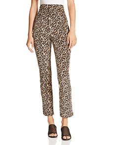Rebecca Taylor - Leopard-Printed Velour Pants