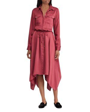 LAUREN RALPH LAUREN TWILL SHIRT DRESS