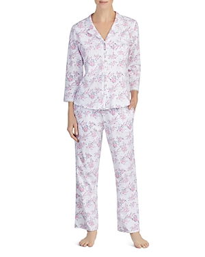Eileen West LONG FLORAL PJ SET