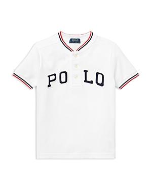 Polo Ralph Lauren Boys Henley Baseball Tee  Little Kid
