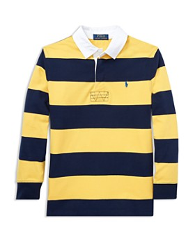 Ralph Lauren - Boys' Striped Cotton Rugby Shirt - Big Kid