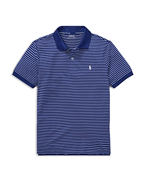 Polo Ralph Lauren Boys' Performance Stretch Lisle Polo - Big Kid