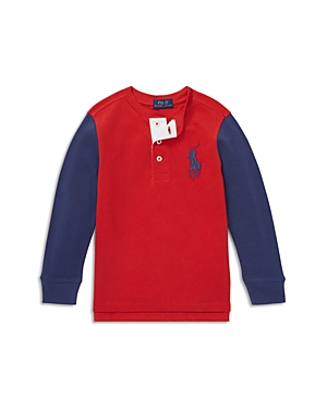 280c31c07 Polo Ralph Lauren Boys' Big Pony Henley Shirt - Little Kid