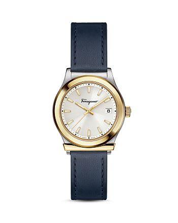Salvatore Ferragamo - Ferragamo 1898 Blue Watch, 28mm
