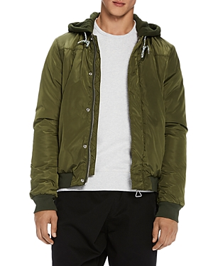 Scotch & Soda Hooded Bomber Jacket
