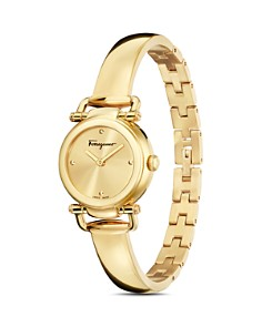 Salvatore Ferragamo - Gancino Casual Gold Watch, 26mm