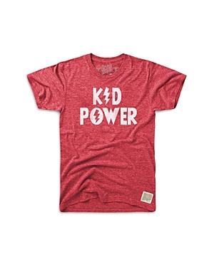 Retro Brand Boys' Kid Power Graphic Tee - Little Kid, Big Kid