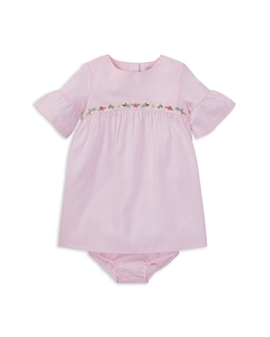 Ralph Lauren Girls Embroidered Dress  Bloomers Set  Baby