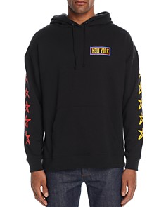 6397 - New York Hooded Graphic Sweatshirt