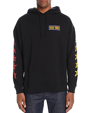 6397 New York Hooded Graphic Sweatshirt