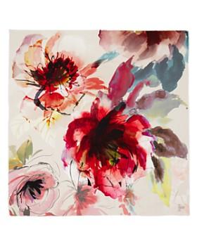 Larioseta - Watercolor Floral Print Scarf