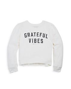 Spiritual Gangster Girls' Grateful Vibes Sweatshirt - Little Kid, Big Kid - Bloomingdale's_0