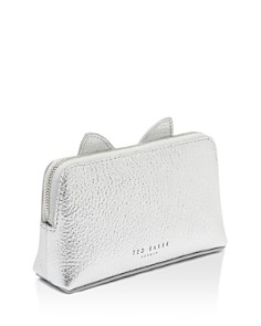 Ted Baker - Oohan Cat Whiskers Small Leather Cosmetics Bag
