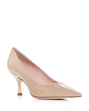 kate spade new york Women's Sonia Patent Leather Kitten-Heel Pumps