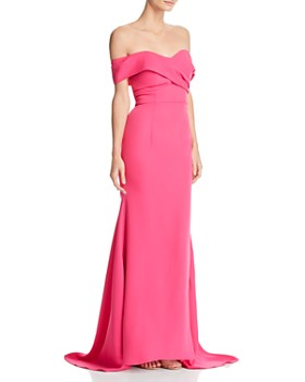 Jarlo - Off-the-Shoulder Gown