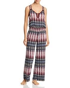 Splendid - Long Pajama Jumpsuit