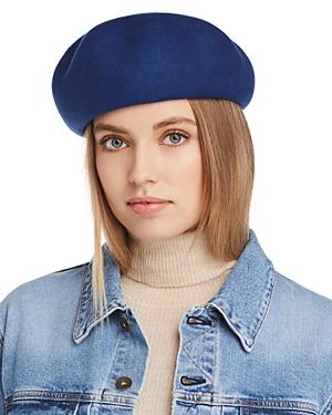 Aqua Wool Felt Beret - 100% Exclusive