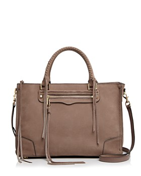 Rebecca Minkoff - Regan Nubuck Leather Satchel