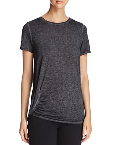 Marc New York - Short-Sleeve Ruched Tee