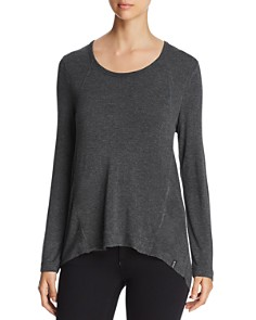 Marc New York - Long-Sleeve High/Low Top