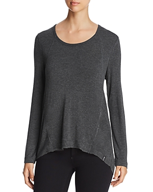 Marc New York Performance Long-Sleeve High/Low Top