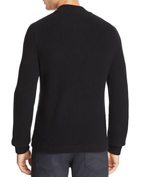 BOSS - Eterno Mixed-Media Color-Block Jacket