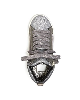Dolce Vita - Girls' Zaila Glitter High Top Sneakers - Little Kid, Big Kid