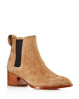 rag & bone - Women's Walker Pointed Toe Mid-Heel Booties