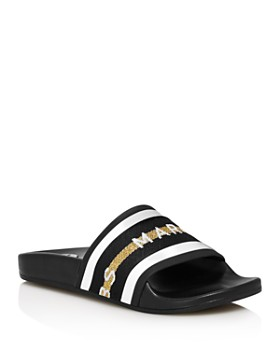 MARC JACOBS - Women's Cooper Open Toe Slide Sandals