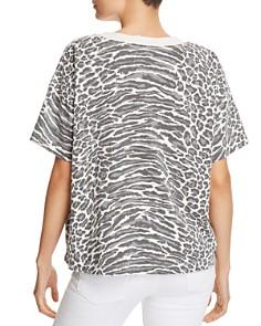 Current/Elliott - The Roadie Leopard Print Tee