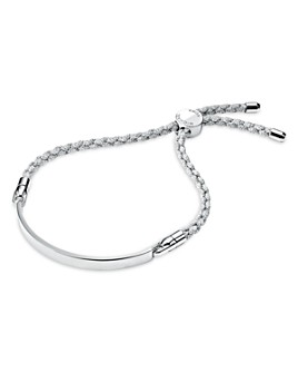 Michael Kors - Custom Kors Sterling Silver Cord Bracelet in 14K Gold-Plated Sterling Silver, 14K Rose Gold-Plated Sterling Silver or Solid Sterling Silver