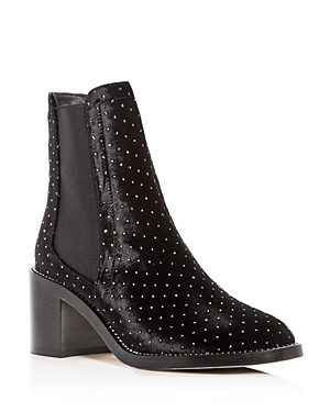 Jimmy Choo Women's Merril Studded Velvet Booties