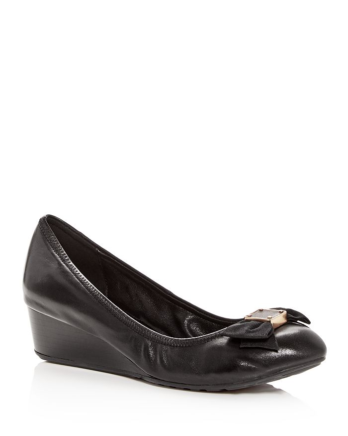 49be263ef35 Cole Haan - Women s Tali Leather Demi-Wedge Pumps