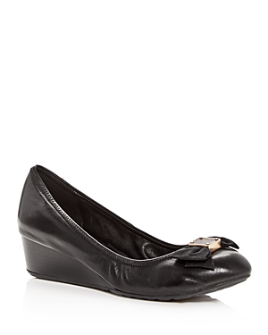 Cole Haan Women\\\'s Tali Leather Demi-Wedge Pumps