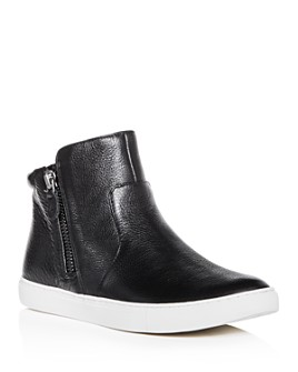 Gentle Souls by Kenneth Cole - Women's Carter Leather High Top Sneakers