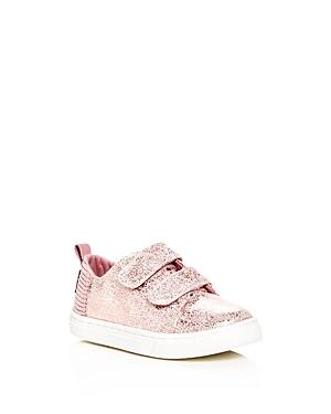 Toms Girls Lenny Crackled Leather Sneakers  Baby Walker Toddler