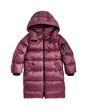 Burberry - Girls' Briton Down Puffer Coat - Little Kid, Big Kid