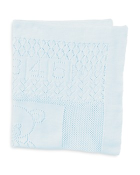 Ralph Lauren - Boys' Bear Pointelle Blanket - Baby