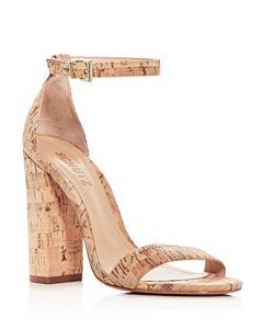 933788c94056 SCHUTZ Women s Enida Suede Ankle Strap Block-Heel Sandals ...