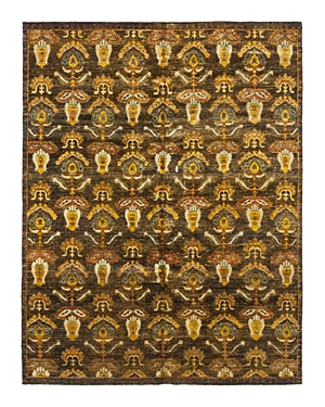 Solo Rugs Sari Silk 5 Hand-Knotted Area Rug, 7' 9 x 9' 10