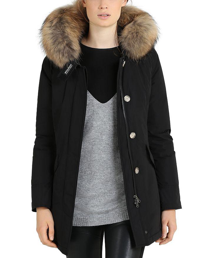 90793e1308e JOHN RICH & BROS Fur Trim Luxury Arctic Parka