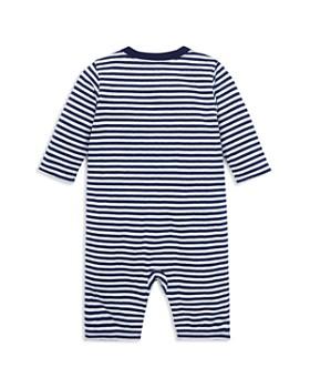 Ralph Lauren - Boys' Striped Henley Coverall - Baby