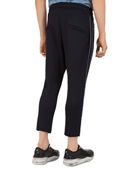 The Kooples - Grosgrain-Trim Regular Fit Tapered Sweatpants