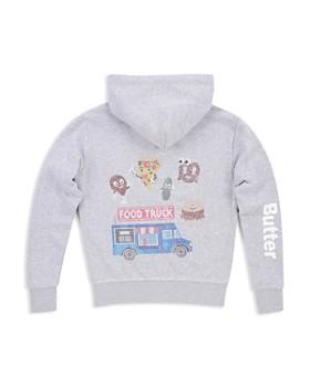 Butter - Girls' Embellished Food Truck Hoodie, Big Kid - 100% Exclusive