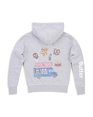 Butter Girls' Embellished Food Truck Hoodie, Big Kid - 100% Exclusive