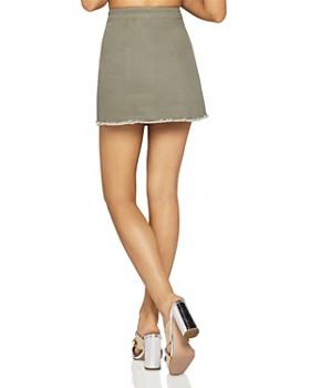 BCBGeneration - Frayed Mini Skirt